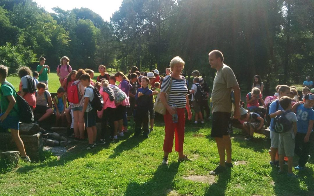 School year opening ceremony in Malomvölgy